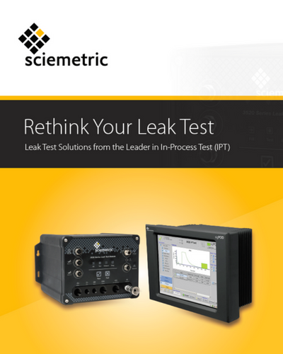 Leak test brochure cover