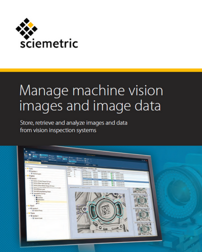 Machine vision brochure cover